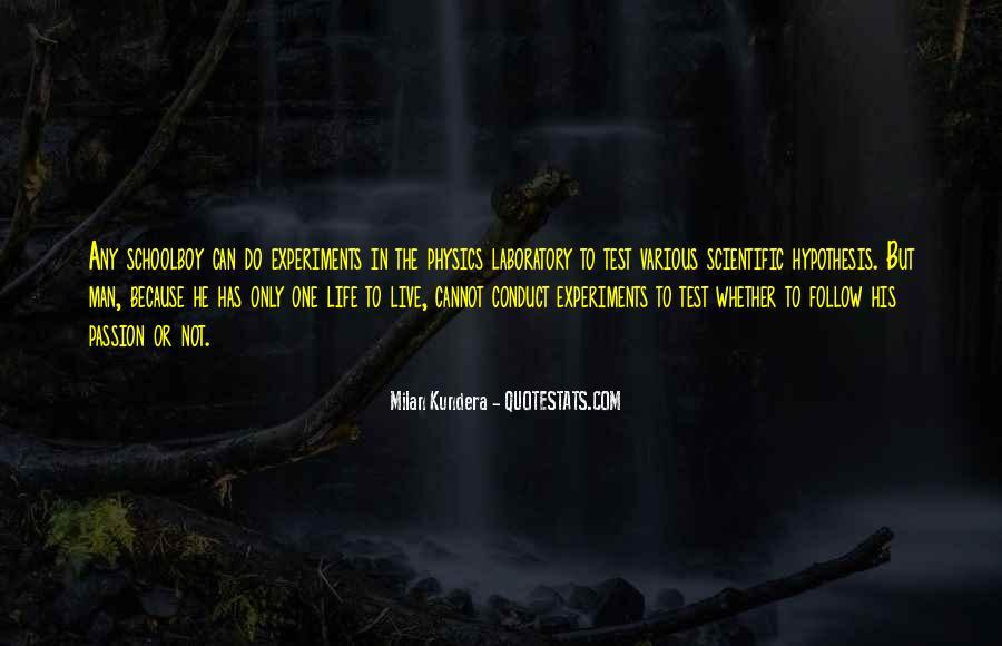 Quotes About Scientific Hypothesis #134918