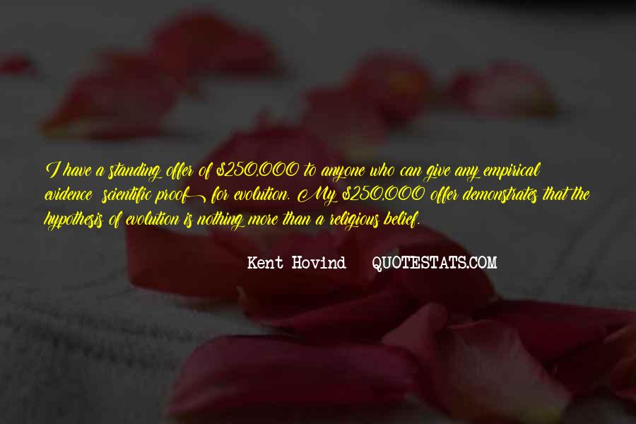 Quotes About Scientific Hypothesis #1706338
