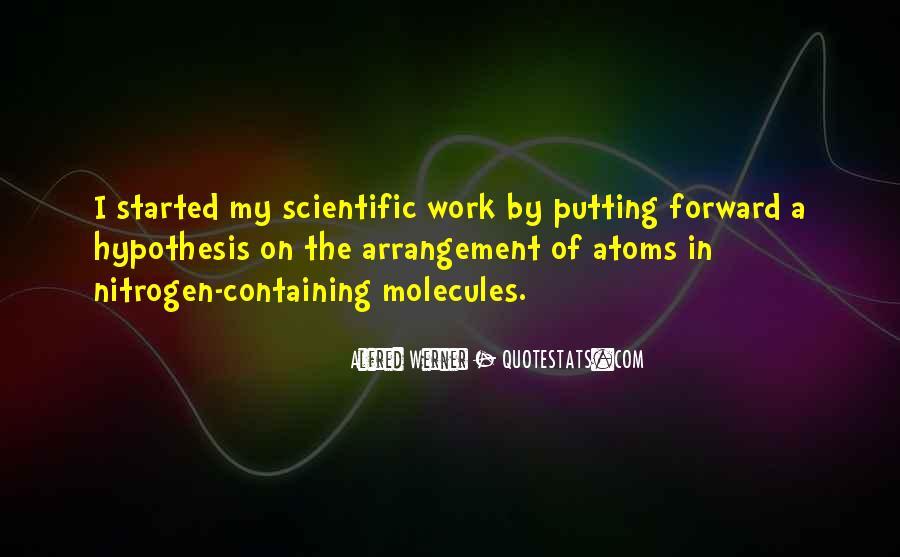Quotes About Scientific Hypothesis #203722