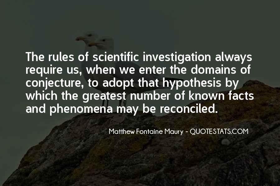 Quotes About Scientific Hypothesis #352631