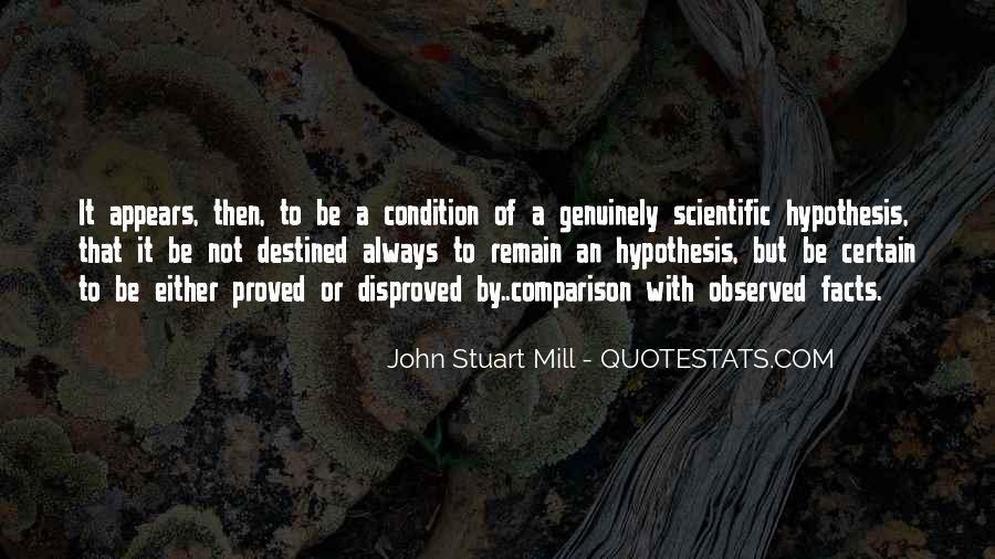 Quotes About Scientific Hypothesis #4123