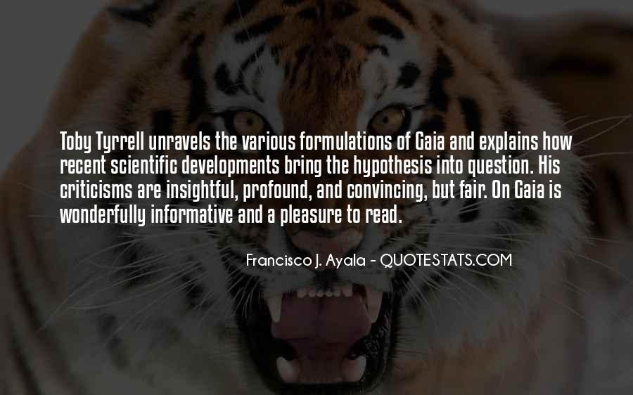 Quotes About Scientific Hypothesis #824787