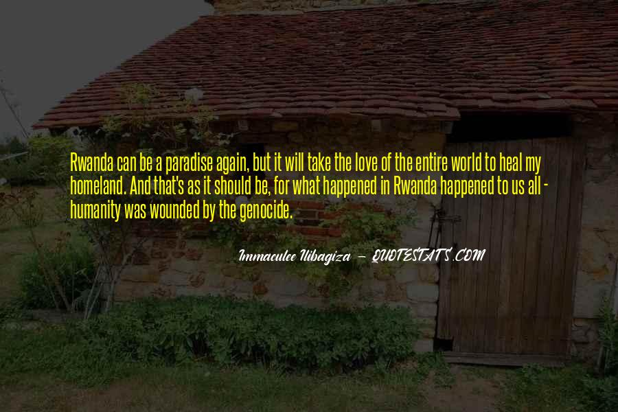 Quotes About What Happened To Us #1200515