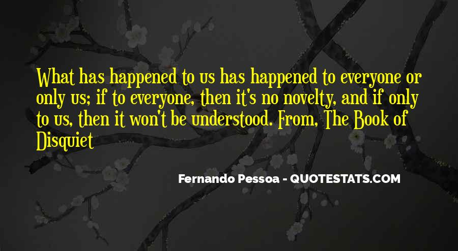 Quotes About What Happened To Us #126745
