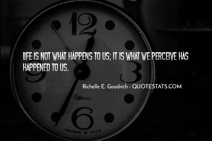 Quotes About What Happened To Us #145340