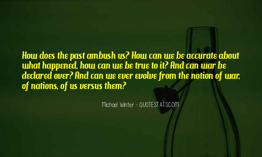 Quotes About What Happened To Us #234081