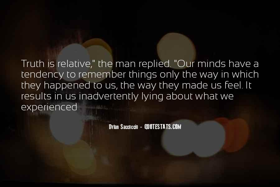 Quotes About What Happened To Us #277892