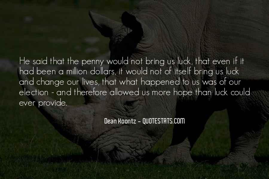 Quotes About What Happened To Us #299008