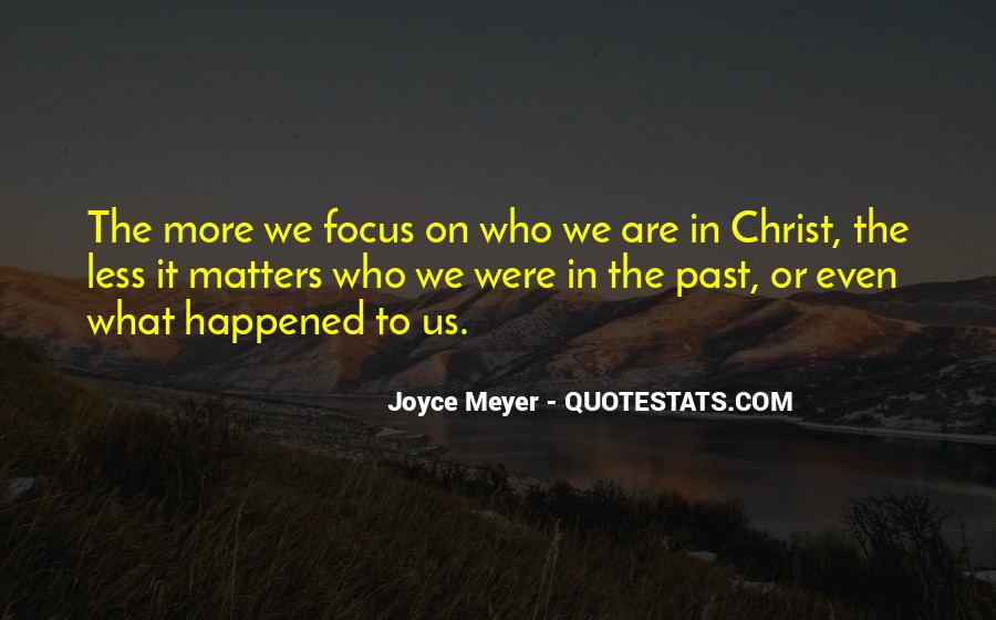 Quotes About What Happened To Us #499323