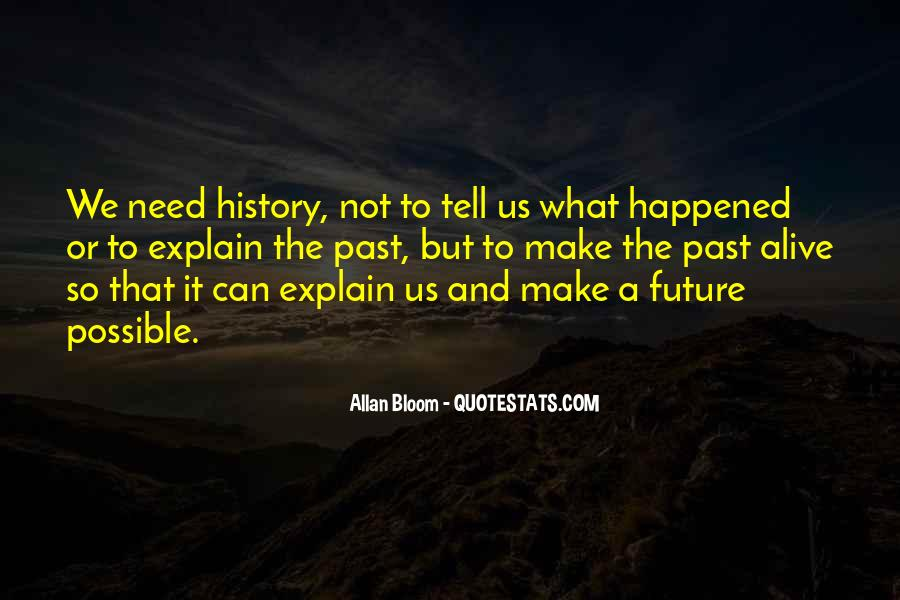 Quotes About What Happened To Us #506505
