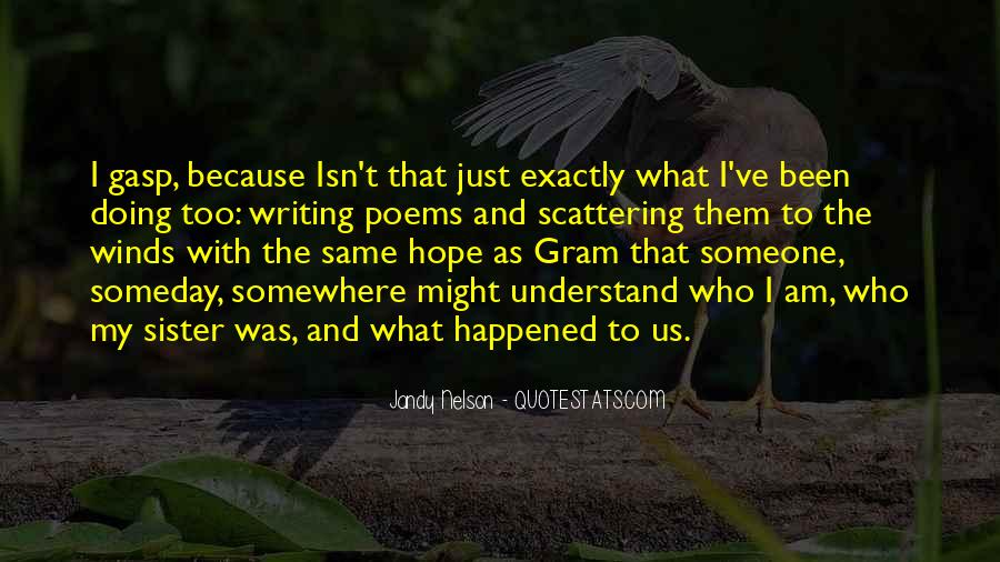 Quotes About What Happened To Us #616411