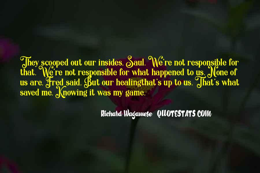 Quotes About What Happened To Us #85001