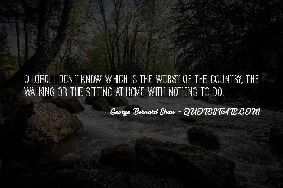 Quotes About Country Home #153751