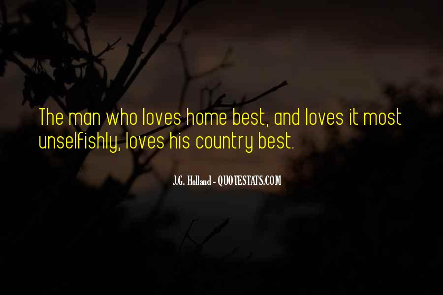 Quotes About Country Home #294232