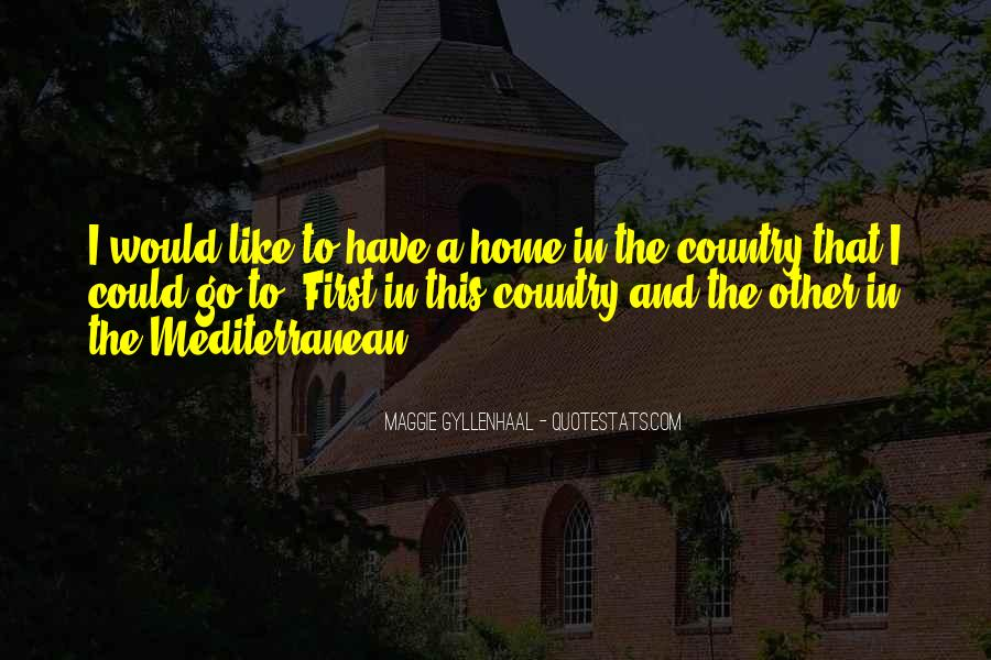Quotes About Country Home #329012