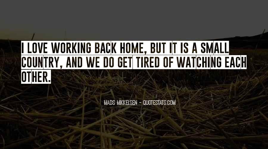 Quotes About Country Home #84311