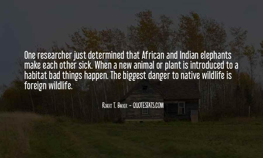 Quotes About African Elephants #1457321