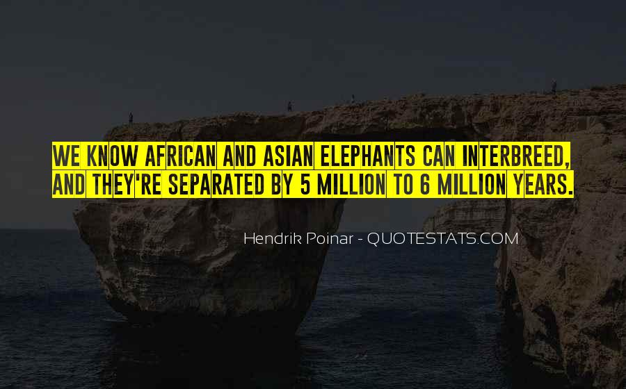 Quotes About African Elephants #686288