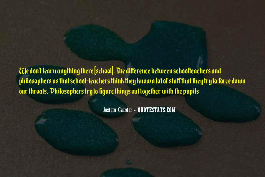 Quotes About Science Teachers #195425