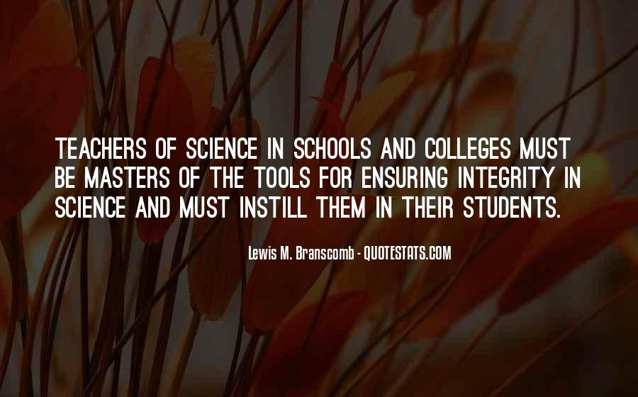 Quotes About Science Teachers #696548