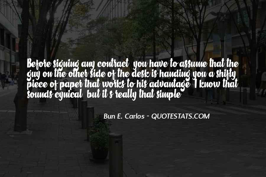 Quotes About Signing #149064