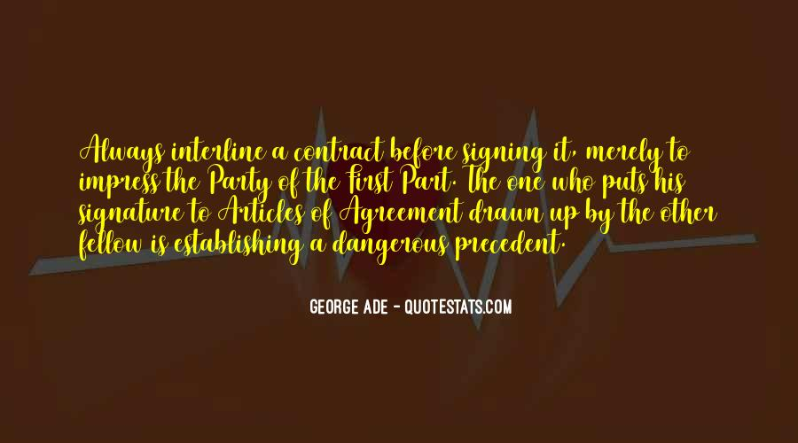 Quotes About Signing #302425