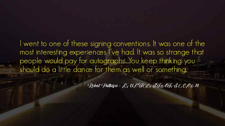 Quotes About Signing #305457