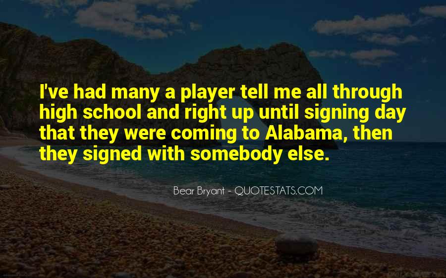 Quotes About Signing #461045