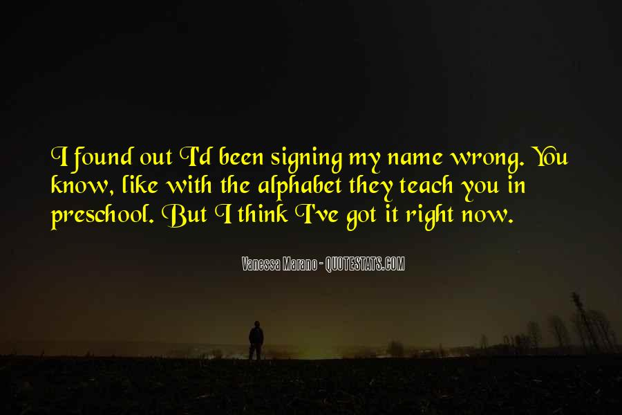 Quotes About Signing #582529