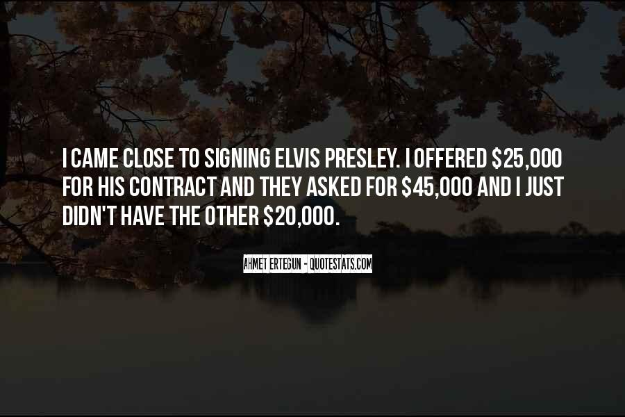 Quotes About Signing #676542