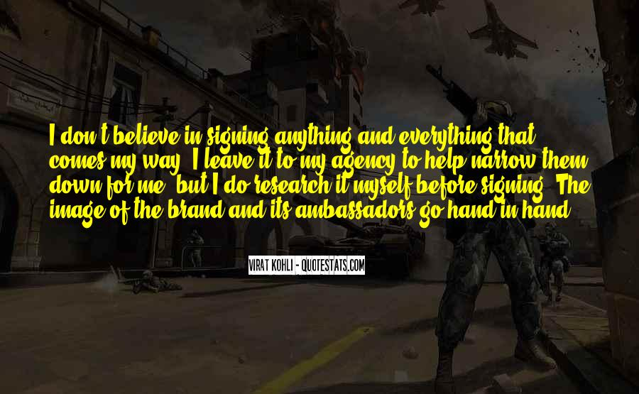 Quotes About Signing #768827