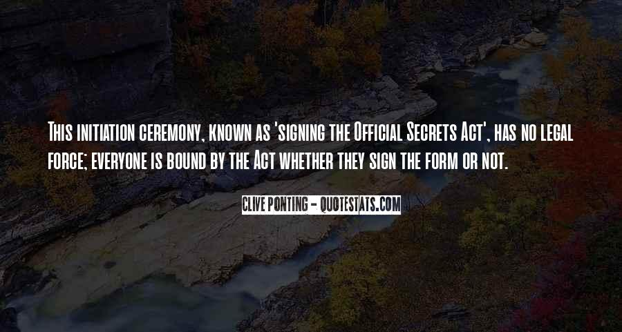 Quotes About Signing #80120