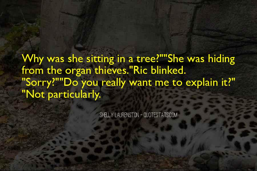 Quotes About Sitting Under A Tree #131849
