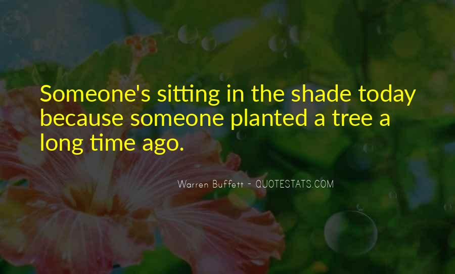 Quotes About Sitting Under A Tree #17337