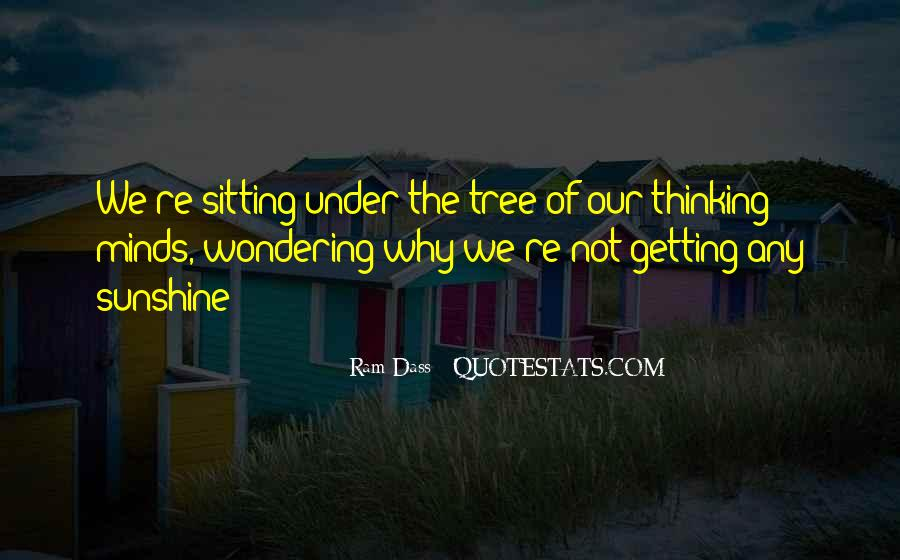 Quotes About Sitting Under A Tree #656819