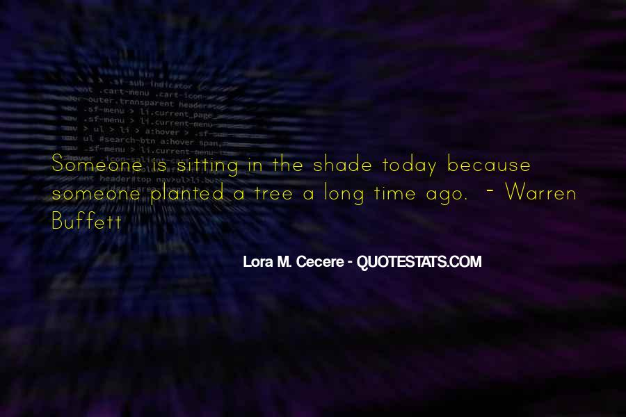 Quotes About Sitting Under A Tree #973269