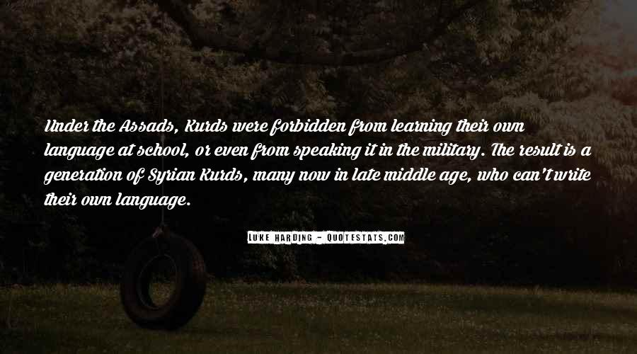 Quotes About The Kurds #1772747