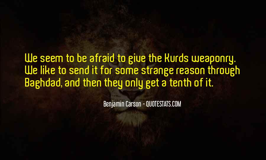Quotes About The Kurds #352726