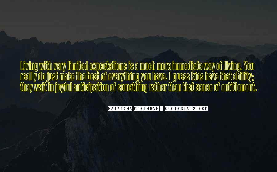 Quotes About Entitlement #168626