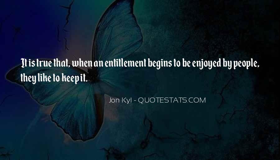 Quotes About Entitlement #182341