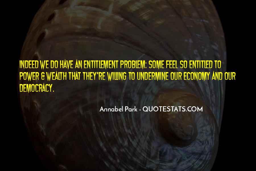 Quotes About Entitlement #186978