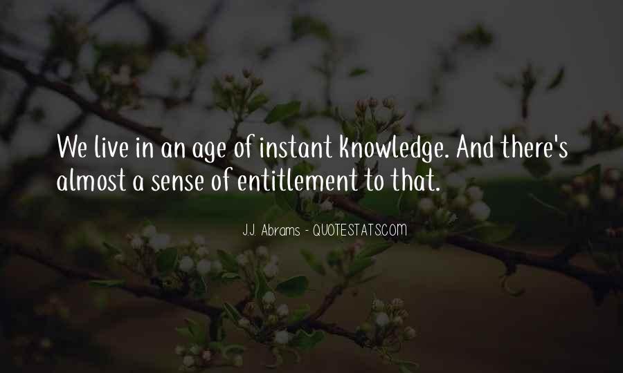 Quotes About Entitlement #355609