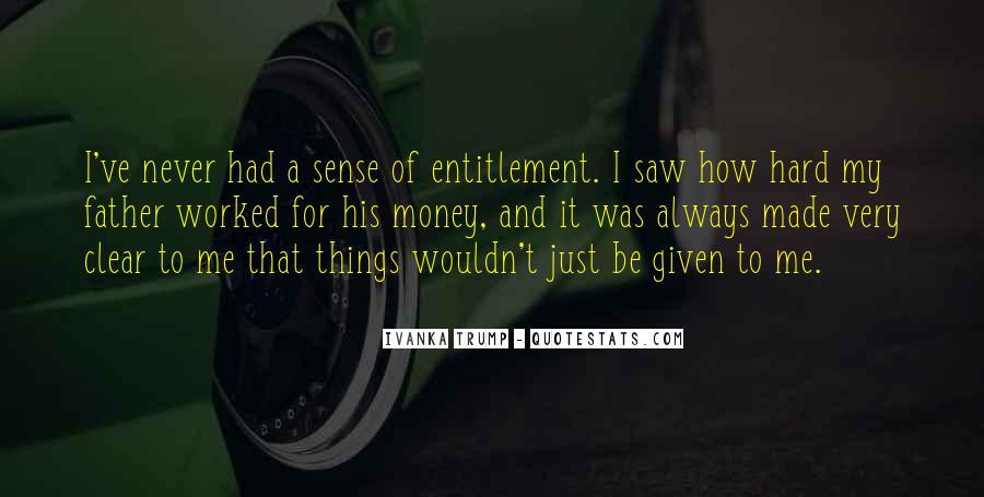 Quotes About Entitlement #395536