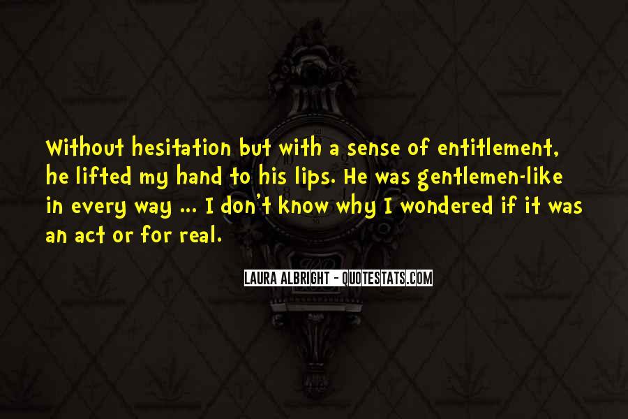 Quotes About Entitlement #404774