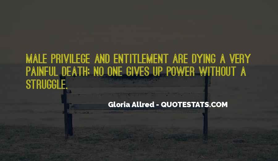 Quotes About Entitlement #491034