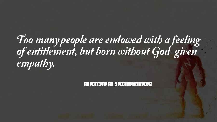 Quotes About Entitlement #53415