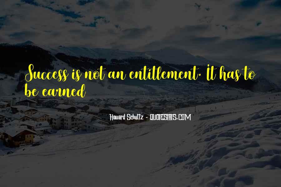 Quotes About Entitlement #611926