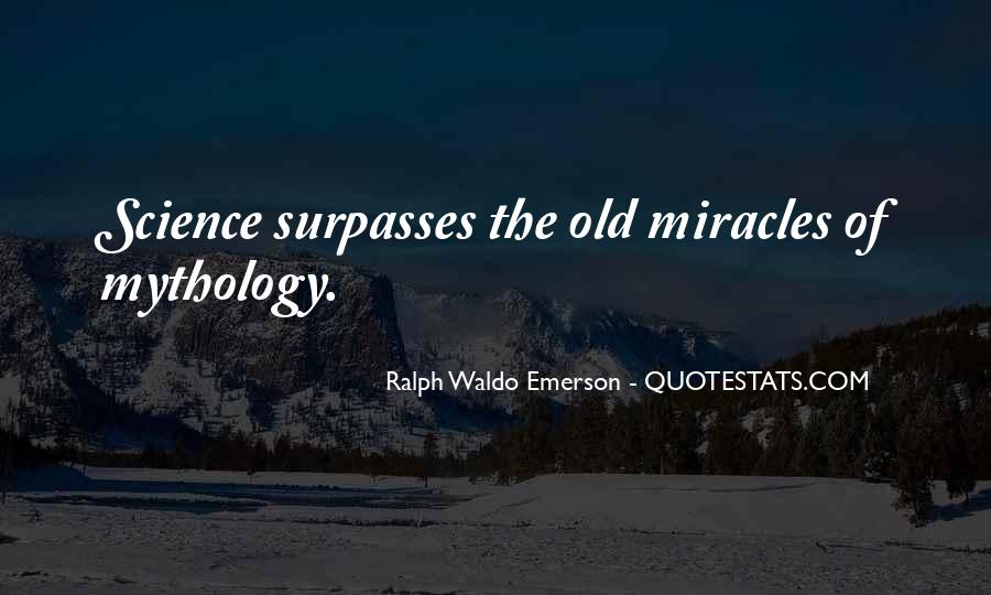 Quotes About Science And Miracles #1012805