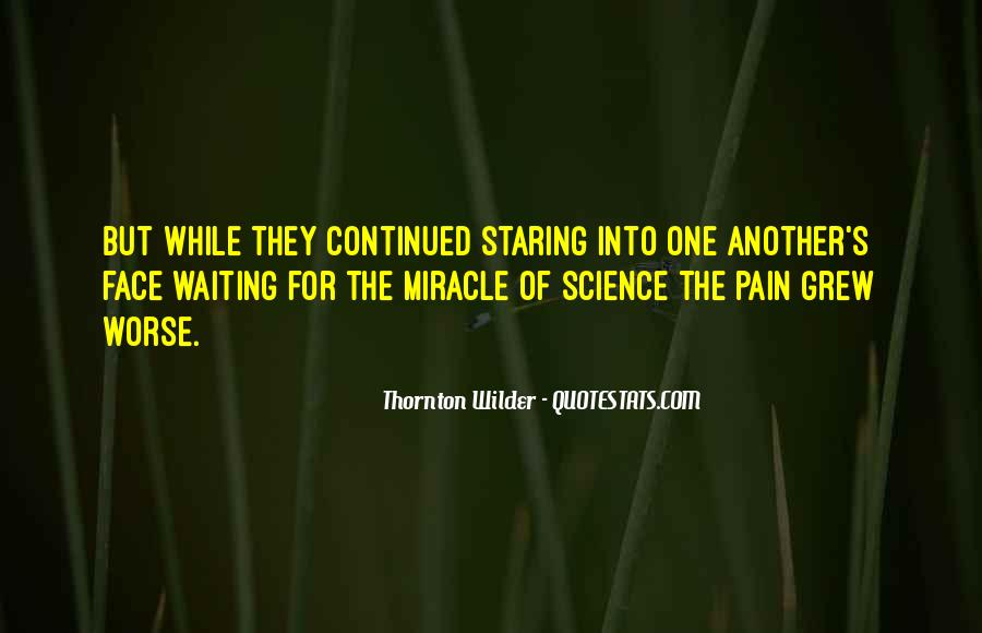 Quotes About Science And Miracles #1700558