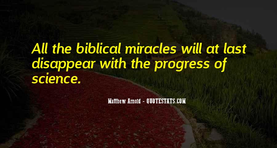 Quotes About Science And Miracles #1740316